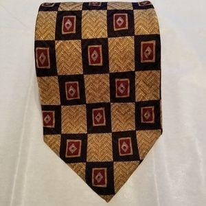 Robert Talbott Studio Mark Shale 100% silk tie